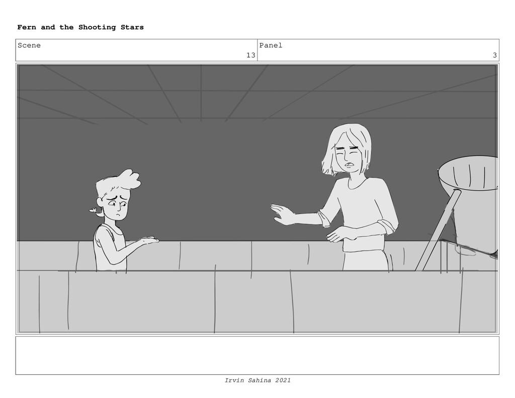 Scene 13 Panel 3 Fern and the Shooting Stars Ir...