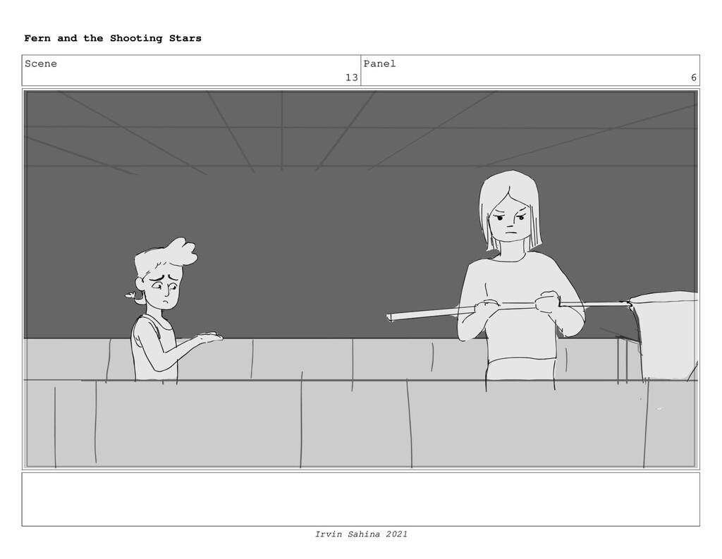 Scene 13 Panel 6 Fern and the Shooting Stars Ir...