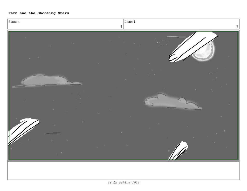 Scene 1 Panel 7 Fern and the Shooting Stars Irv...