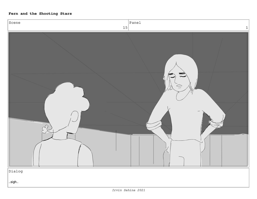 Scene 15 Panel 1 Dialog ..sigh.. Fern and the S...