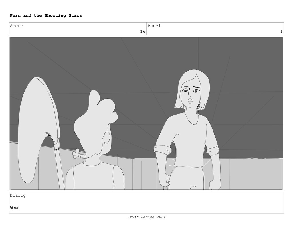 Scene 16 Panel 1 Dialog Great Fern and the Shoo...