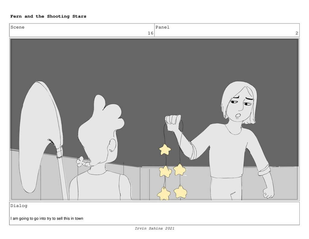 Scene 16 Panel 2 Dialog I am going to go into t...