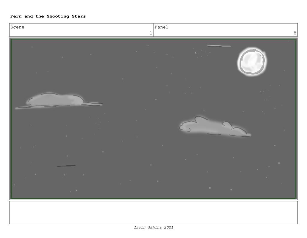 Scene 1 Panel 8 Fern and the Shooting Stars Irv...