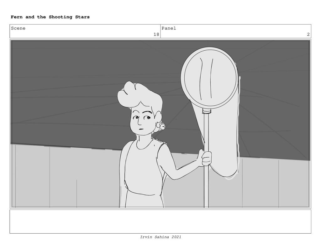 Scene 18 Panel 2 Fern and the Shooting Stars Ir...