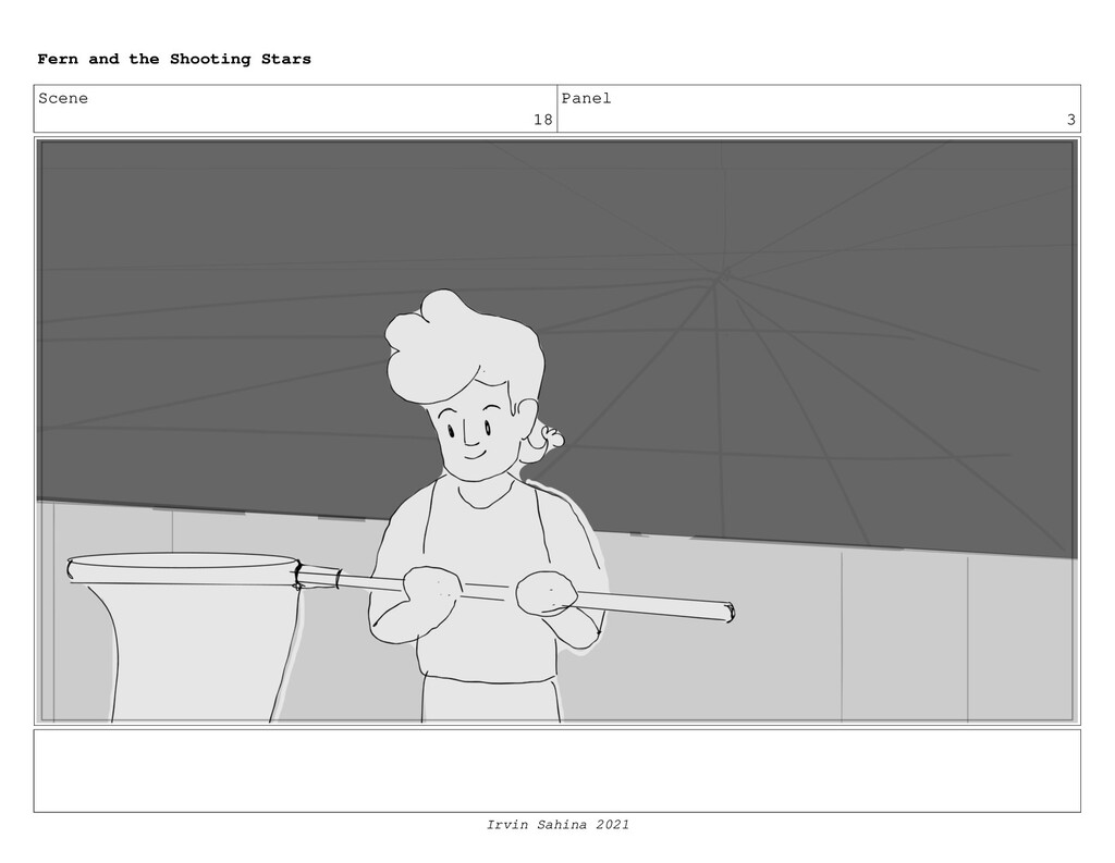 Scene 18 Panel 3 Fern and the Shooting Stars Ir...