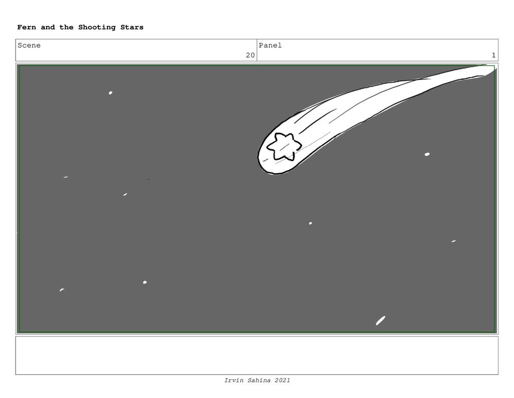 Scene 20 Panel 1 Fern and the Shooting Stars Ir...