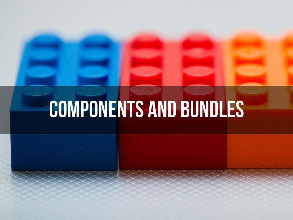 components and bundles