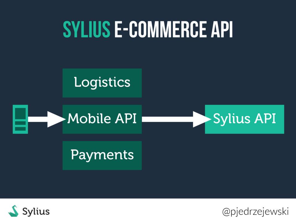 Sylius E-Commerce API Sylius API Mobile API @pj...