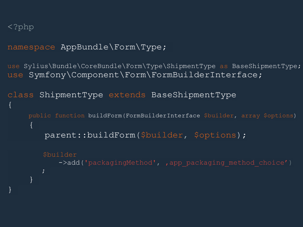 <?php namespace AppBundle\Form\Type; use Sylius...