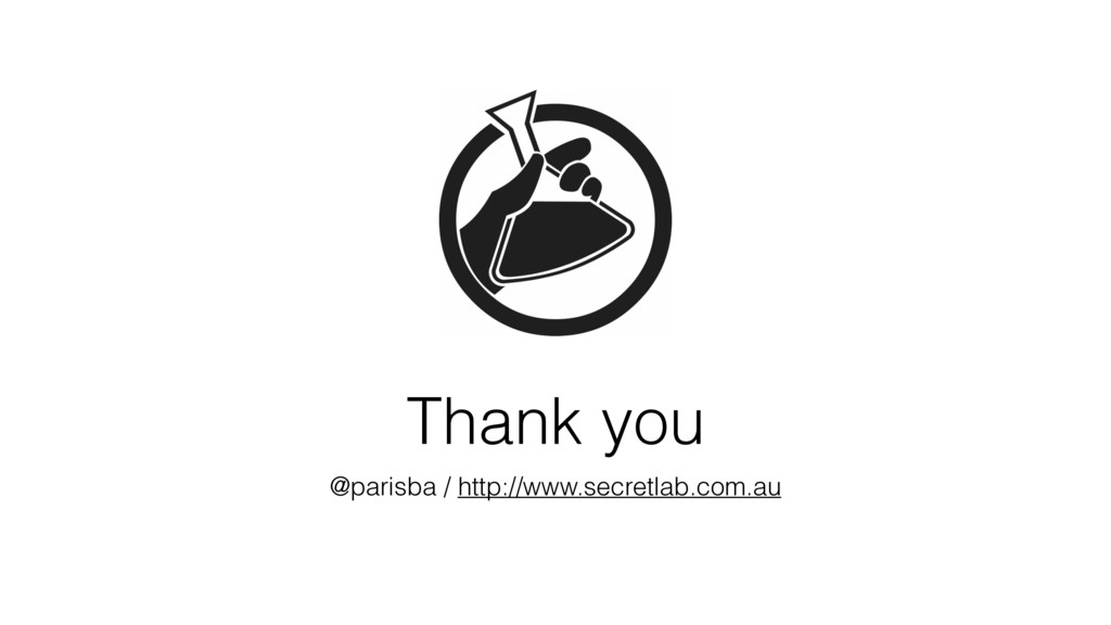 Thank you @parisba / http://www.secretlab.com.au