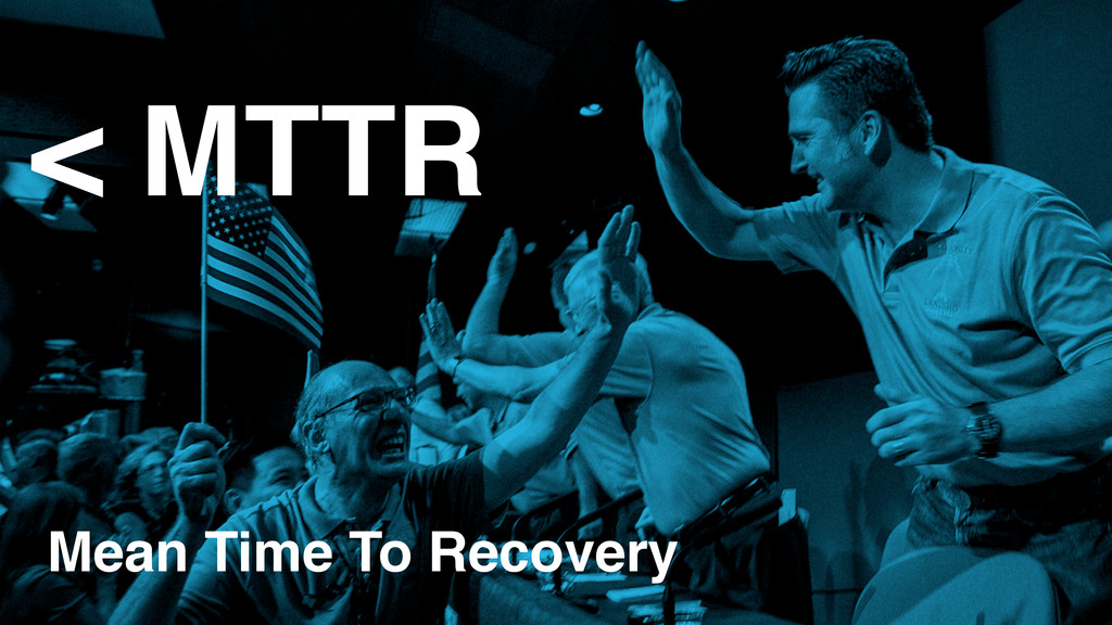 < MTTR Mean Time To Recovery
