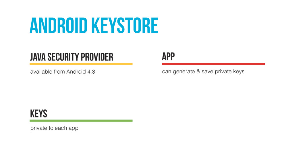 Android keystore available from Android 4.3 jav...