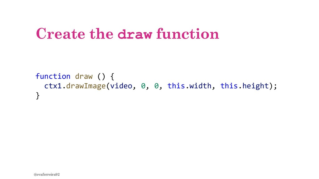 Create the draw function @evaferreira92 functio...