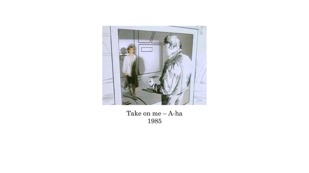 Take on me – A-ha 1985