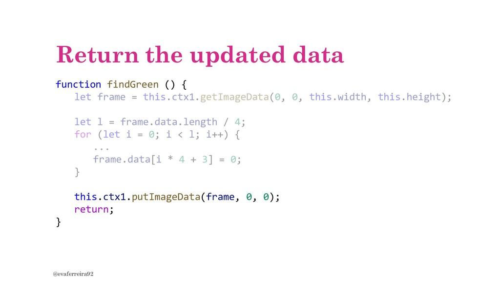 Return the updated data @evaferreira92 function...