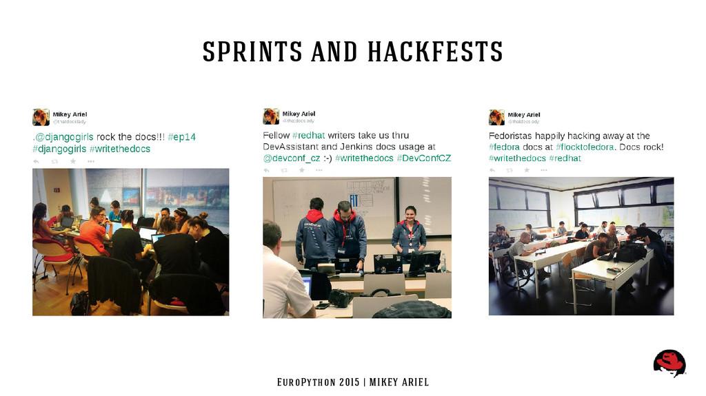 EuroPython 2015 | MIKEY ARIEL sprints and hackf...