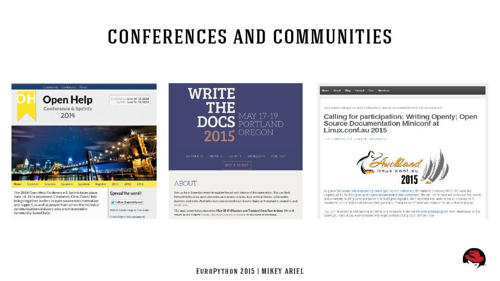 EuroPython 2015 | MIKEY ARIEL conferences and c...