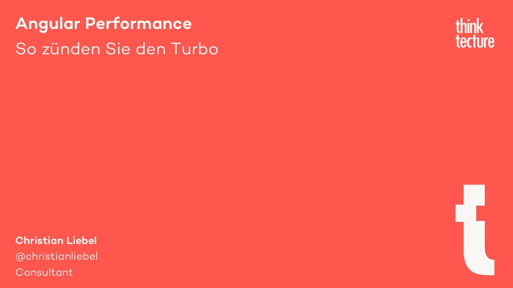 Angular Performance So zünden Sie den Turbo Chr...
