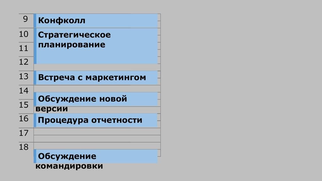 9 10 11 12 13 14 15 16 17 18 Конфколл Стратегич...