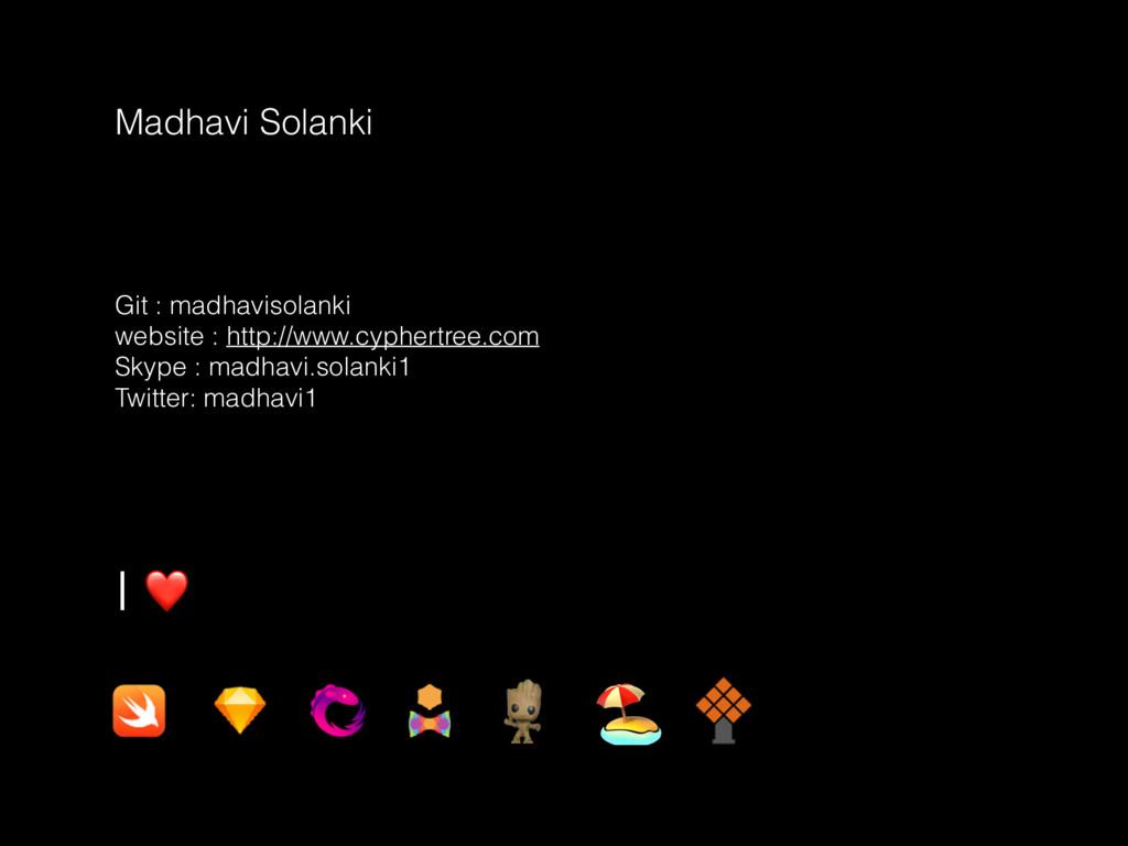 Madhavi Solanki Git : madhavisolanki website : ...