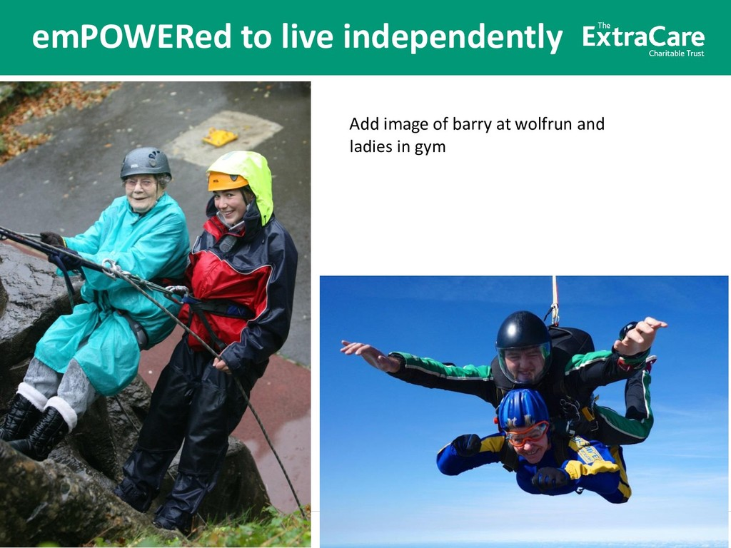 Better lives for older people emPOWERed to live...