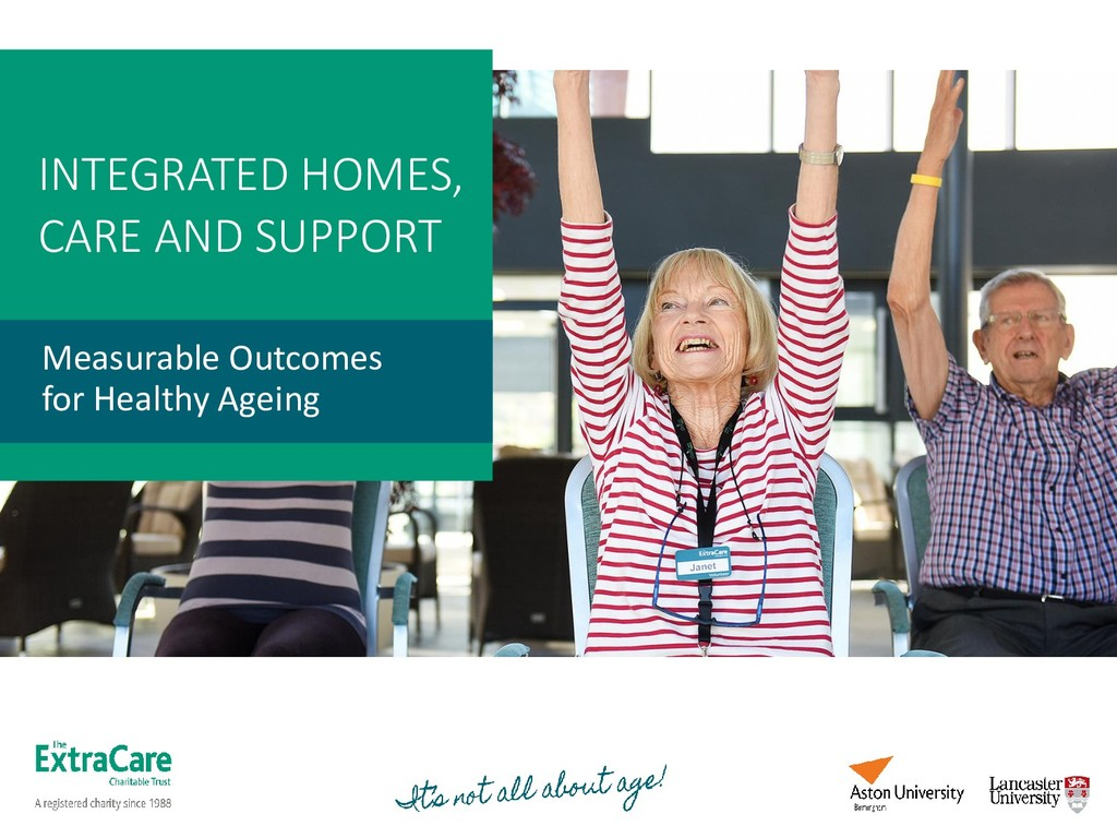 INTEGRATED HOMES, CARE AND SUPPORT Measurable O...
