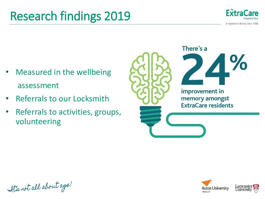 Research findings 2019 • Measured in the wellbe...