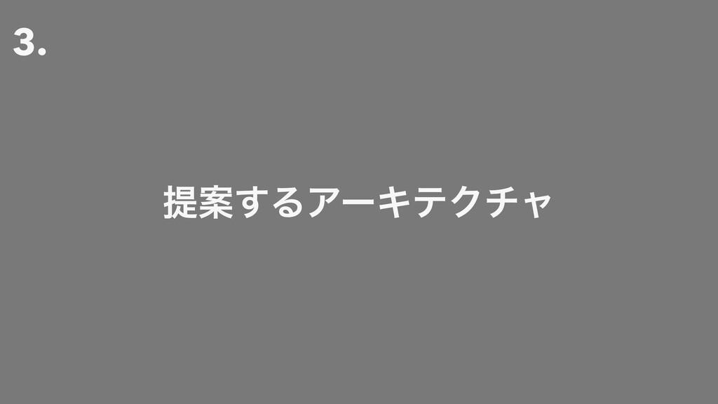3. ఏҊ͢ΔΞʔΩςΫνϟ
