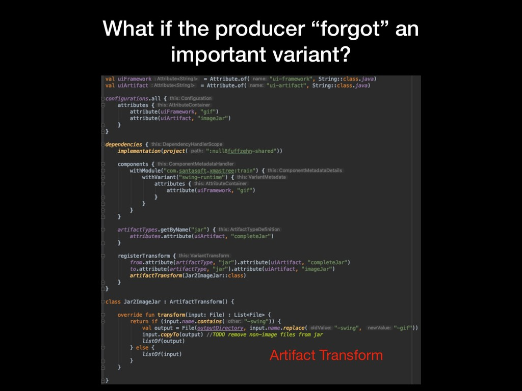 """What if the producer """"forgot"""" an important vari..."""