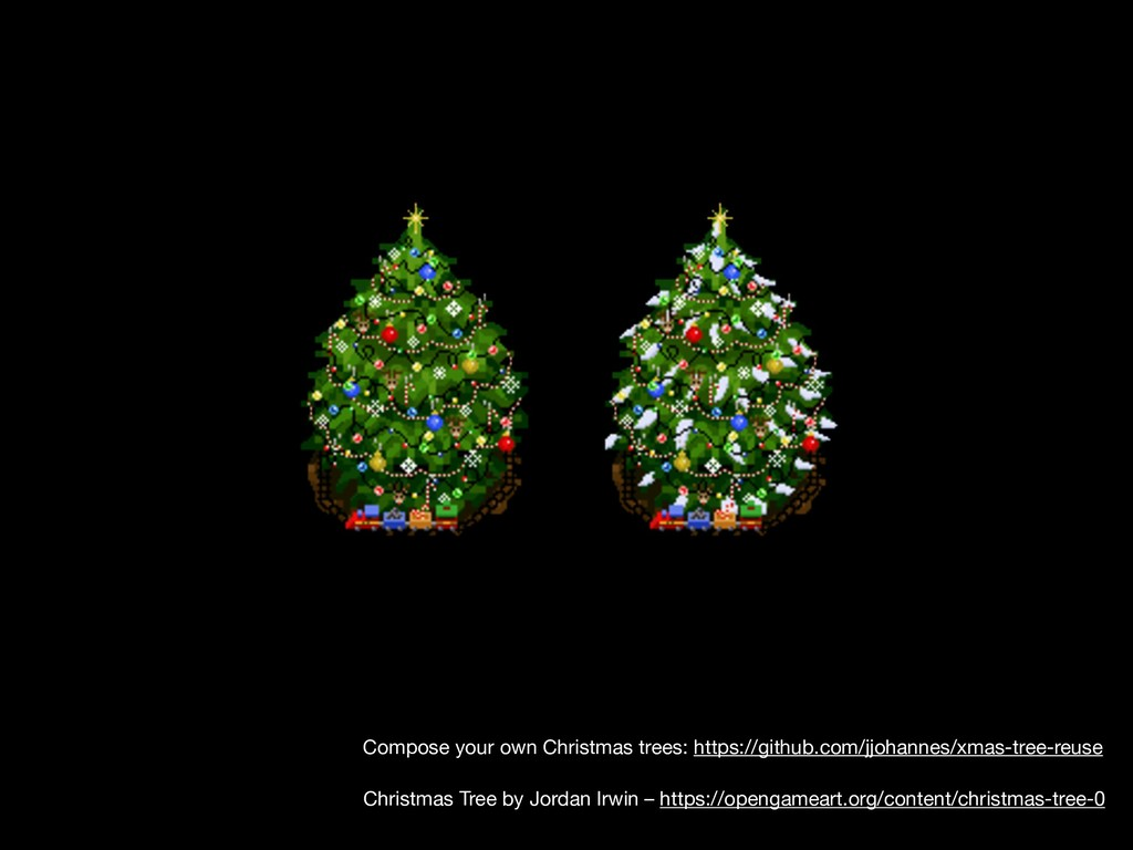 Christmas Tree by Jordan Irwin – https://openga...
