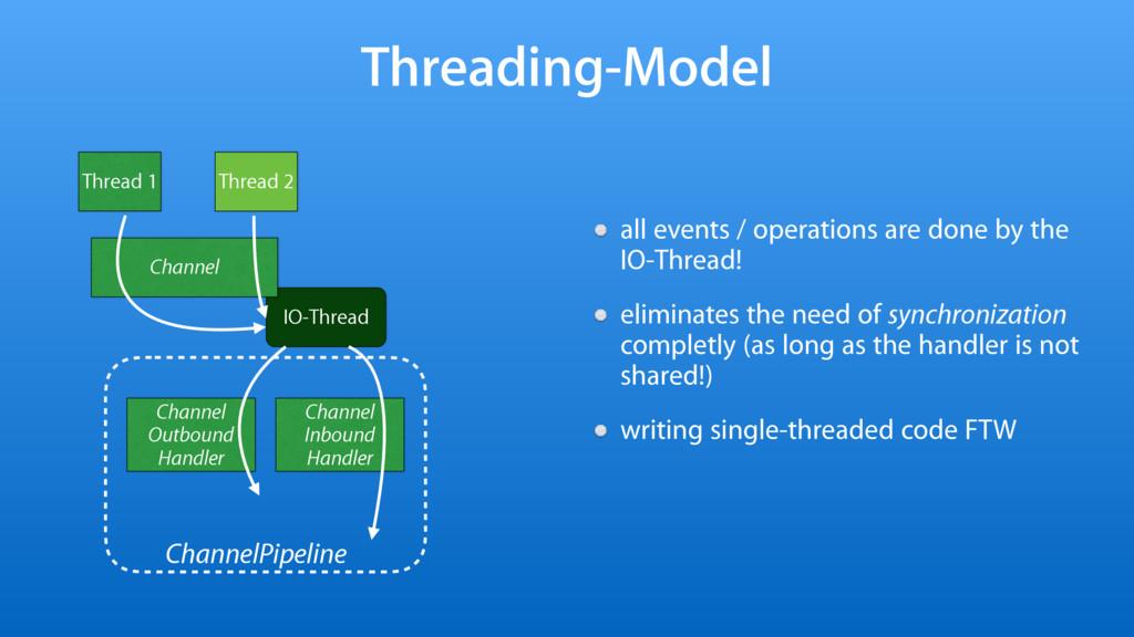 IO-Thread Threading-Model all events / operatio...