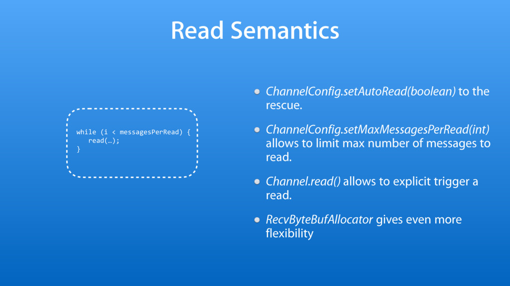 Read Semantics ChannelConfig.setAutoRead(boolea...
