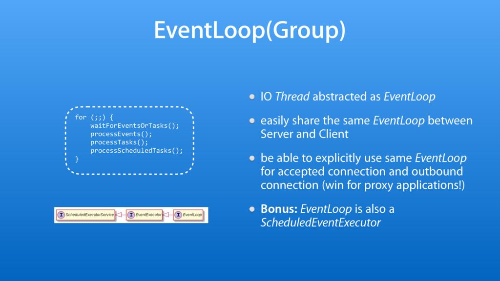 EventLoop(Group) IO Thread abstracted as EventL...