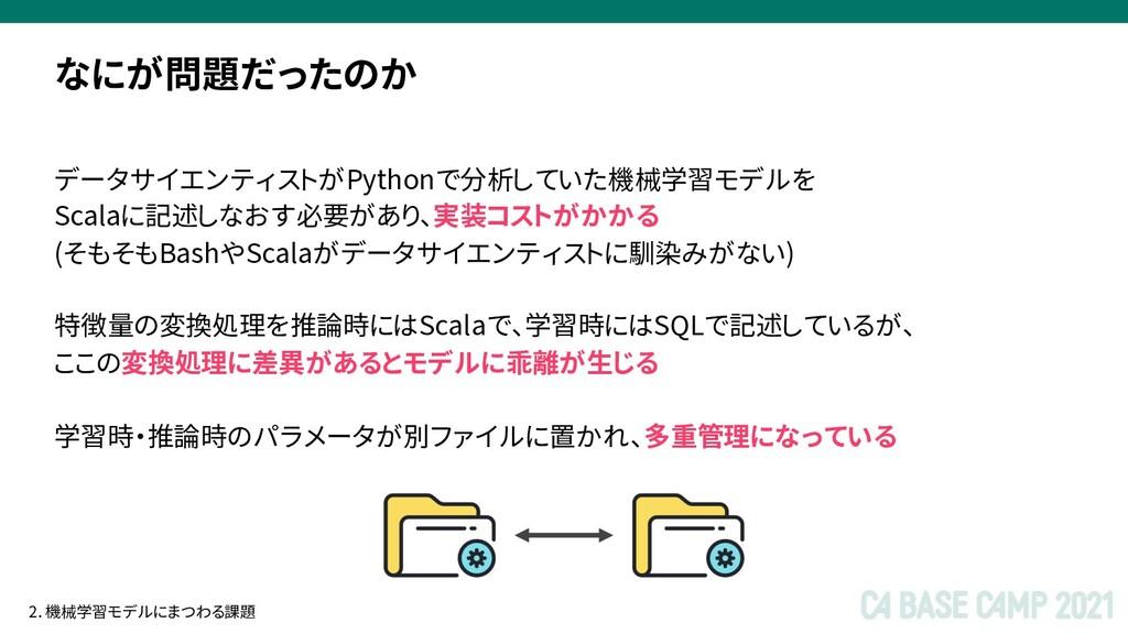 データサイエンティストがPythonで分析していた機械学習モデルを Scalaに記述しなおす必...