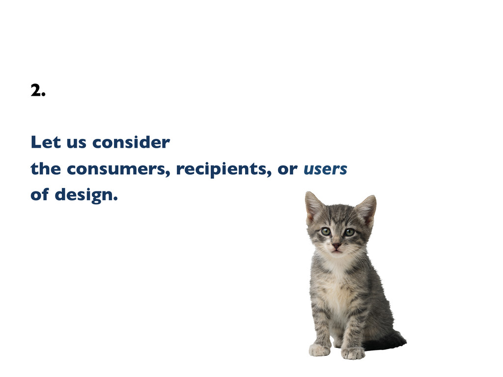 2.    Let us consider   the consumers, re...