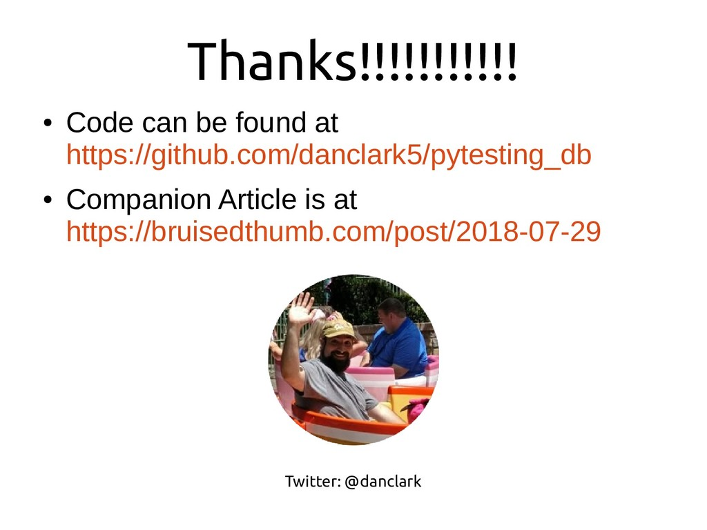● Code can be found at https://github.com/dancl...