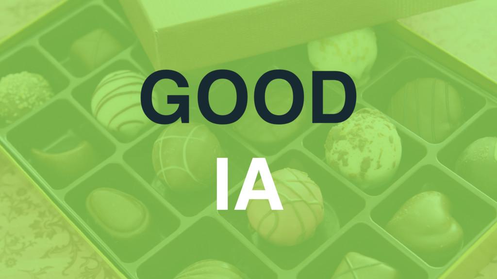GOOD IA
