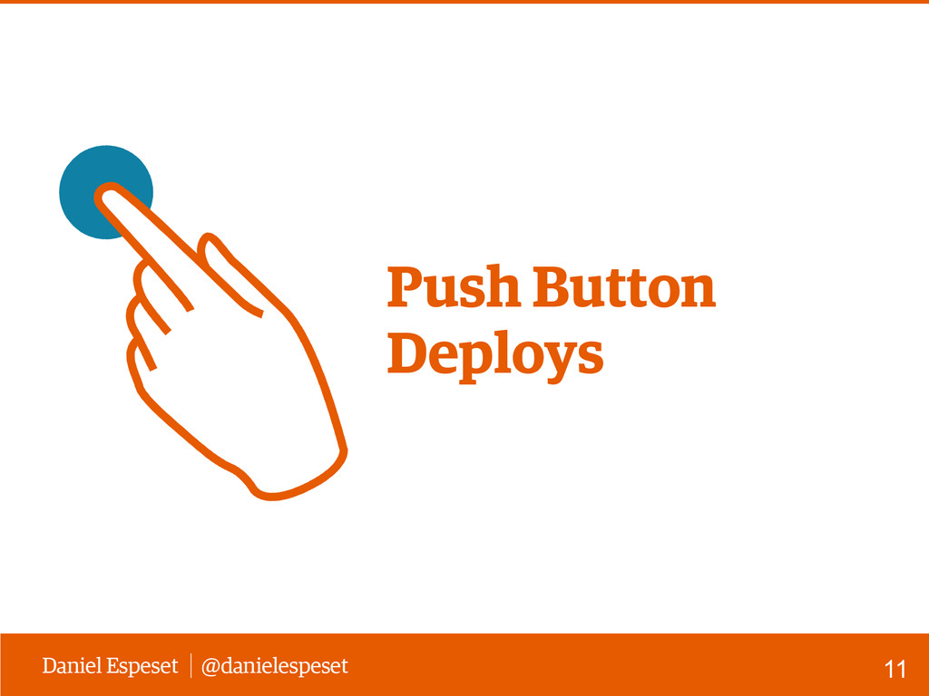 Daniel Espeset @danielespeset Push Button Deplo...
