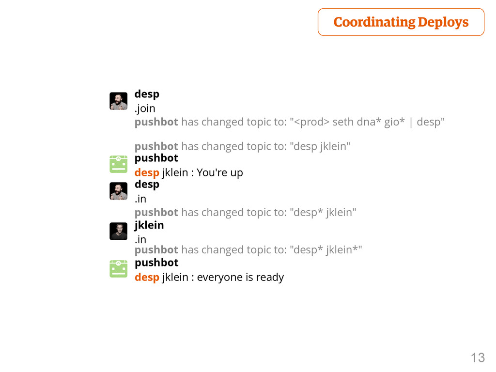"""13 desp .join pushbot has changed topic to: """"<p..."""