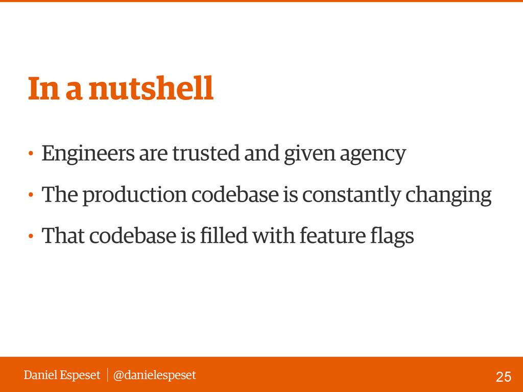 Daniel Espeset @danielespeset • Engineers are t...