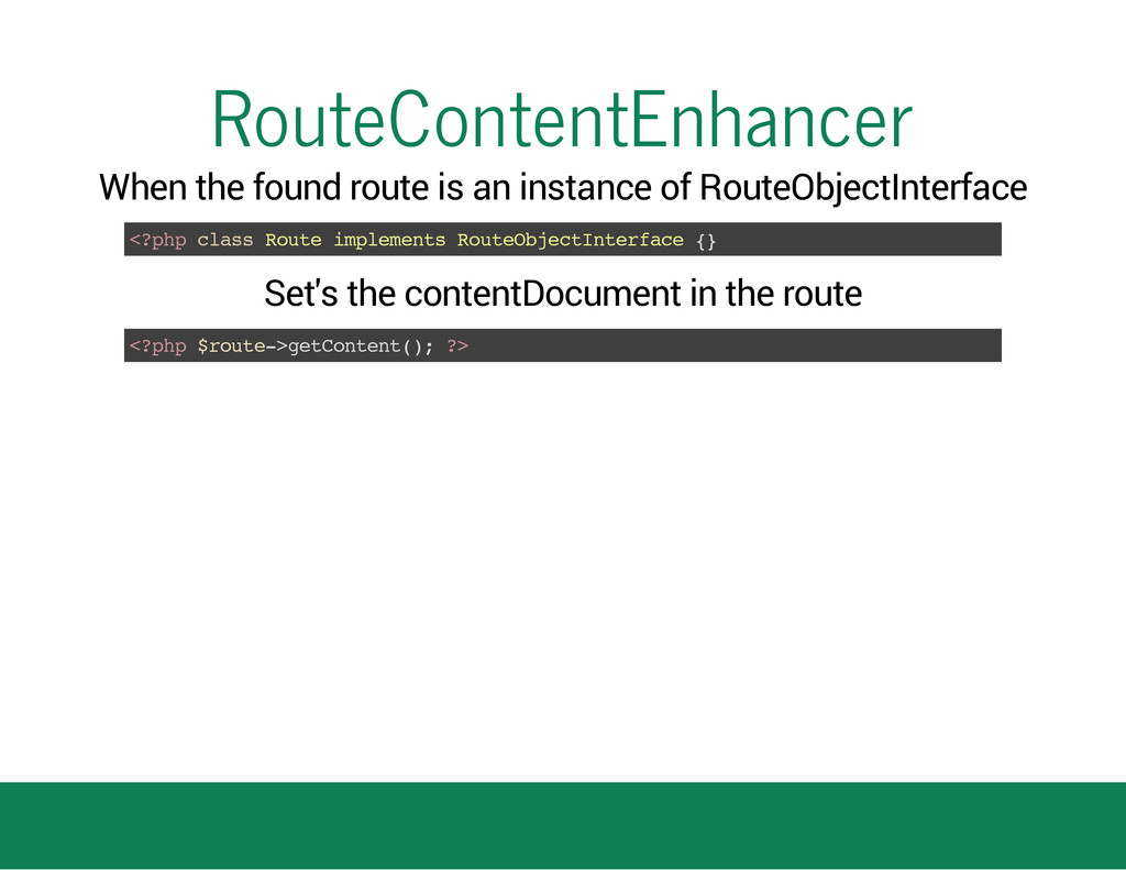 RouteContentEnhancer When the found route is an...