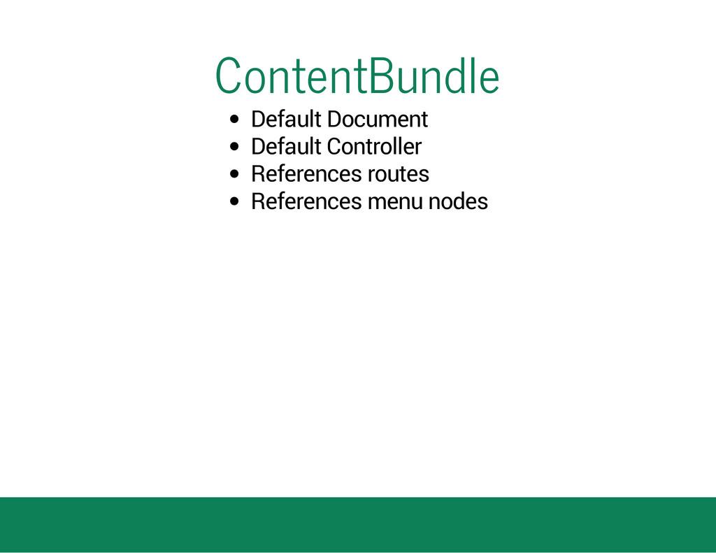 ContentBundle Default Document Default Controll...