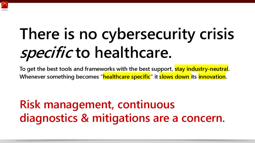 www.netspective.com 16 There is no cybersecurit...