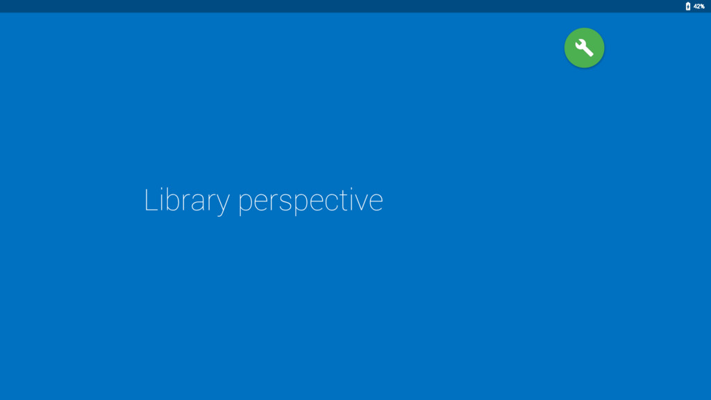 Library perspective 42%