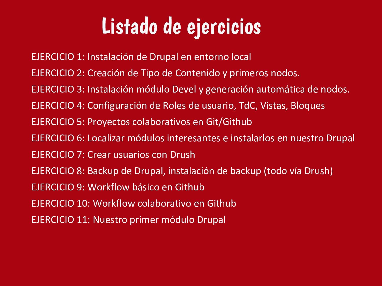 EJERCICIO 1: Instalación de Drupal en entorno l...