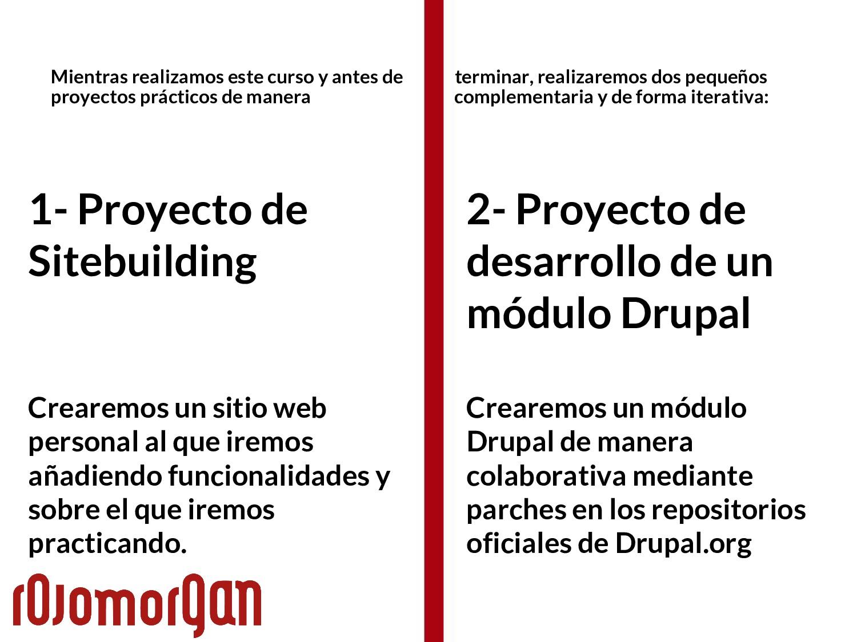 1- Proyecto de Sitebuilding Crearemos un sitio ...
