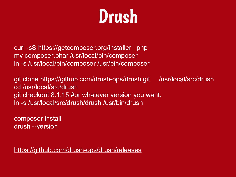 curl -sS https://getcomposer.org/installer | ph...