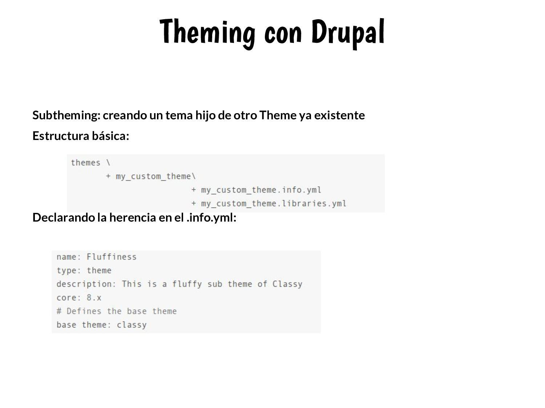 Theming con Drupal Subtheming: creando un tema ...