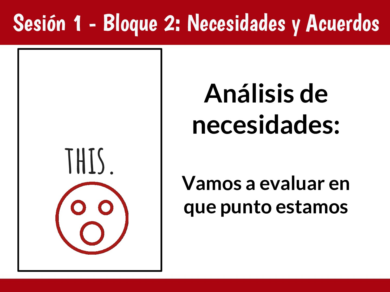 Sesión 1 - Bloque 2: Necesidades y Acuerdos Aná...