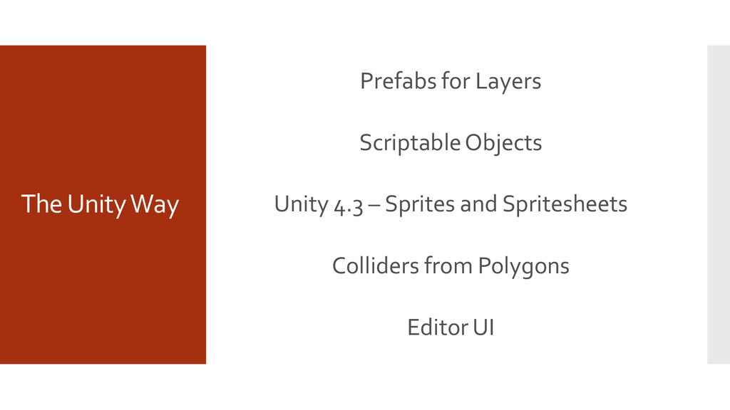 The Unity Way Prefabs for Layers Scriptable Obj...
